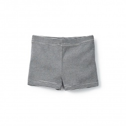 Seaworthy Stripes Somersault Shorts for Little Girls | Tea Collection