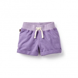 Roll Cuff Beach Shorts for Little Girls | Tea Collection