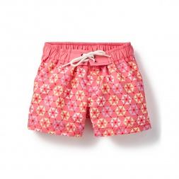 Pink Rashmi Board Shorts for Little Girls | Tea Collection