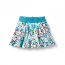 Blue Kalinda Twirl Skort for Girls | Tea Collection