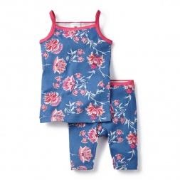 Sleeveless Salma Tank Pajamas for Little Girls | Tea Collection