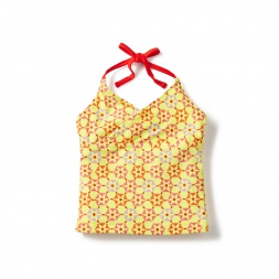 Orange Rashmi Tankini Top for Little Girls | Tea Collection