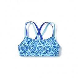 Blue Firoza Bikini Top for Little Girls | Tea Collection