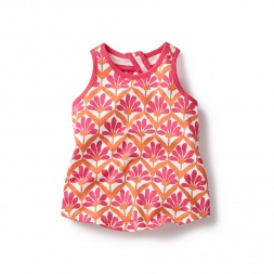Pink Isai Keyhole Tank for Girls | Tea Collection