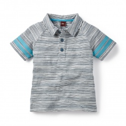 Grey Alwars Surf Polo Shirt for Boys | Tea Collection