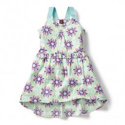 Green Nagina Racerback Dress for Girls | Tea Collection