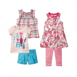 Gulika Surf Set Girl Outfit | Tea Collection