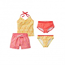 Rashmi Swim Set for Little Girls | Tea Collection