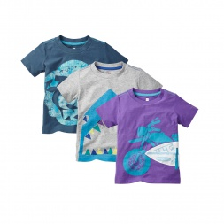 Shark Bite Set Cute Outfit for Boys | Tea Collection