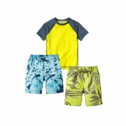 Sun and Sea Swim Set Little Boys Outfit | Tea Collection