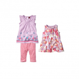 Ganika Chata Set Outfit for Baby Boys | Tea Collection