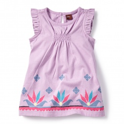 Pink Ganika Chata Dress for Baby Girls | Tea Collection