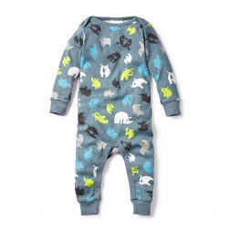 Rhinoceros Unicornis Baby Pajamas for Boys | Tea Collection
