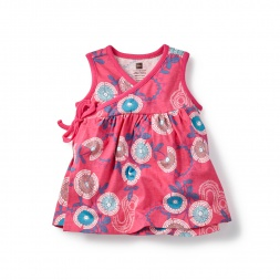 Pink Anandini Wrap Tunic for Baby Girls | Tea Collection