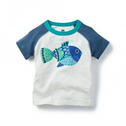 Baby Blowfish Graphic Tee Shirt for Boys | Tea Collection