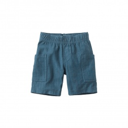 Easy Striped Cargo Shorts