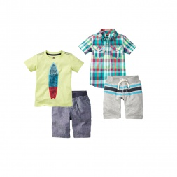 Surfer Dude Set Boys Outfit | Tea Collection