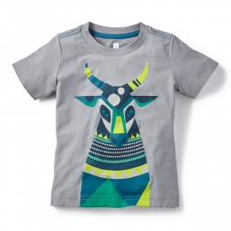 Holi Cow Graphic Tee for Little Boys | Tea Collection