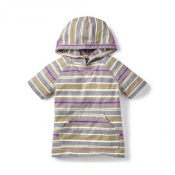Sabrang Striped Hoodie Tee Shirt for Little Boys | Tea Collection