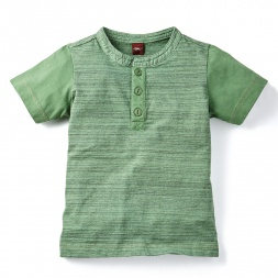 Shaurya Space Dye Henley for Boys| Tea Collection