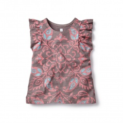 Kavika Mandala Flutter Tee for Girls | Tea Collection