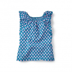 Aakriti Flutter Tank Top for Girls | Tea Collection