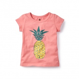 Pineapple Graphic Tee for Girls | Tea Collection
