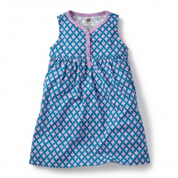 Aakriti Henley Dress for Little Girls | Tea Collection