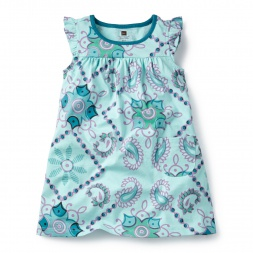 Bandana Mighty Mini Dress for Girls | Tea Collection