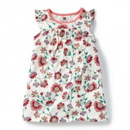 Mahubala Mighty Mini Dress for Little Girls | Tea Collection