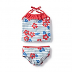 Nautical Blooms Tankini for Little Girls | Tea Collection