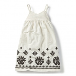 Damyanti Embroidered Sundress for Little Girls | Tea Collection