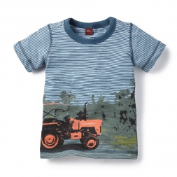 Rituraj Tractor Photo Tee for Boys | Tea Collection
