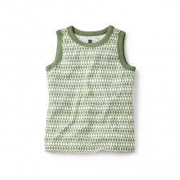 Diamond Fields Tank Top for Boys | Tea Collection