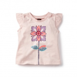 Navina Graphic Tee for Baby Girls | Tea Collection