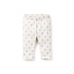 Aditi Capri Leggings for Baby Girls | Tea Collection