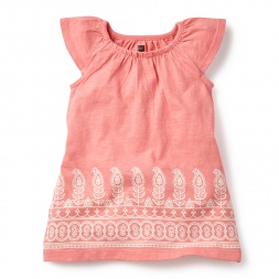 Manga Malai Baby Dress for Girls | Tea Collection