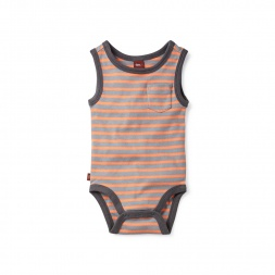 Sabal Striped Bodysuit for Baby Boys | Tea Collection