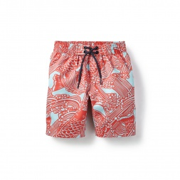 Koi Pond Board Shorts for Boys | Tea Collection