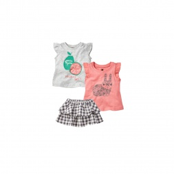 Kharagosa Set Outfit for Baby Girls | Tea Collection