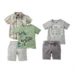 Rangoli Lion Set Outfit for Baby Boys | Tea Collection