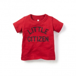 Little Citizen Graphic Tee for Baby Boys | Tea Collection