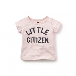 Little Citizen Graphic Tee  for Baby Girls | Tea Collection