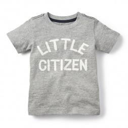 Little Citizen Graphic Tee for Little Boys | Tea Collection