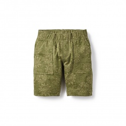 Preet Print French Terry Short for Little Boys | Tea Collection