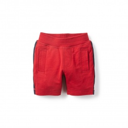 Boys Side Stripe Baby Shorts | Tea Collection