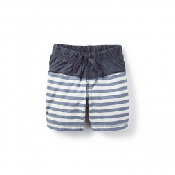 Nautical Stripe Baby Shorts for Boys | Tea Collection