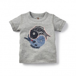 Baby Boy Yin Yang Fish Graphic Tee | Tea Collection