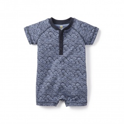 Baby Boy Swaying Sea Romper | Tea Collection
