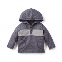 Seashore Hooded Popover for Baby Boys | Tea Collection